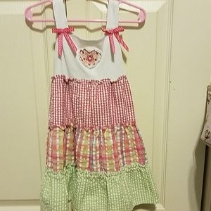 4t fun pattern dress.